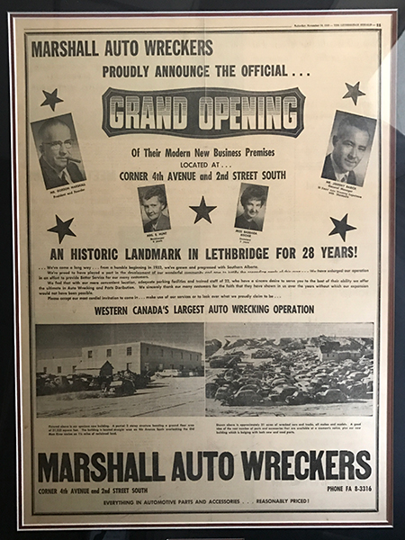 Marshall Auto Wreckers Ltd